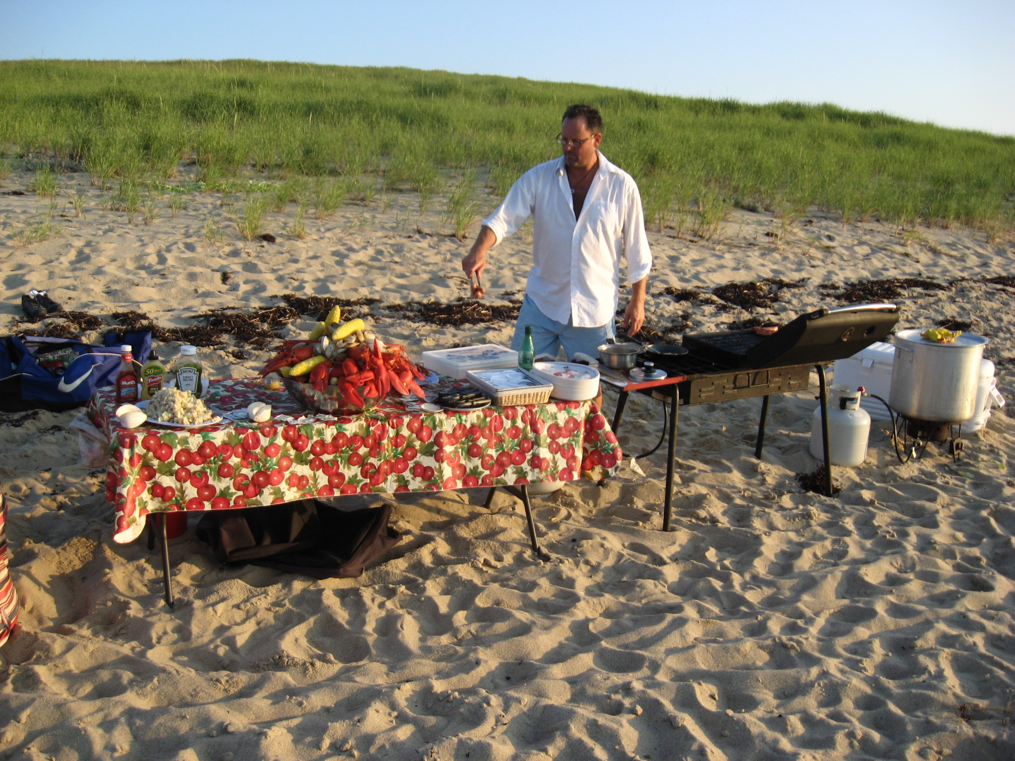 Outer Cape Clambake - With just a phone call you bring a personal chef ...